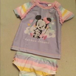 Disney Baby Minnie Two Piece NEW
